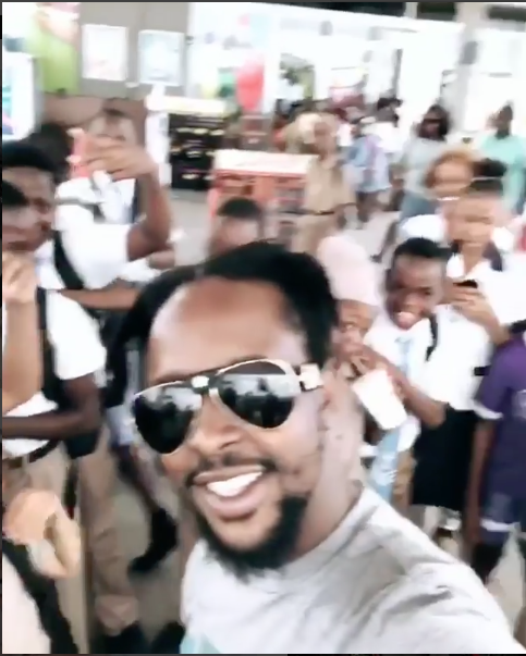 Popcaan Surprises Kids With Money & Unannounced Appearance In Kingston