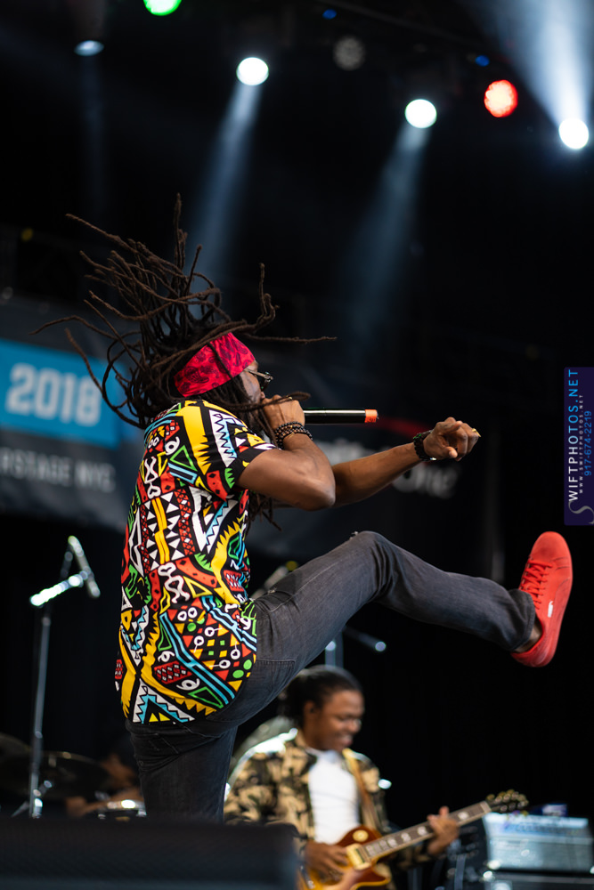 Kabaka Pyramid Makes Debut Performance In Brooklyn at  City Parks SummerStage Festival