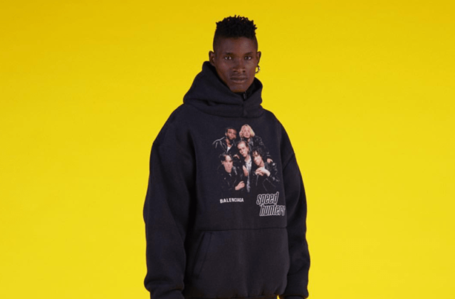Male Jamaican Model Featured In New Balenciaga Ad Campaign