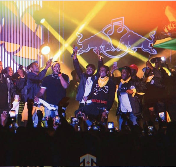 Kranium, Mavado and the Frequent Flyers emerge victorious at Redbull Culture Clash