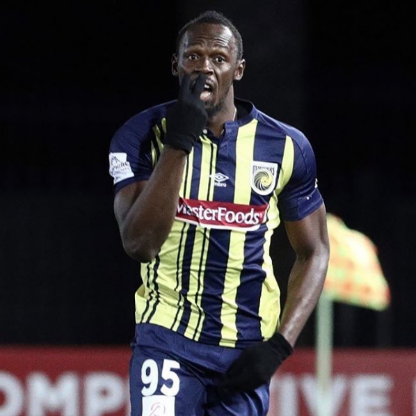 Usain Bolt silences critics; impresses on his professional debut for Central Coast Mariners