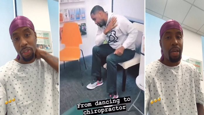 Safaree Fractured His Neck From Dancing