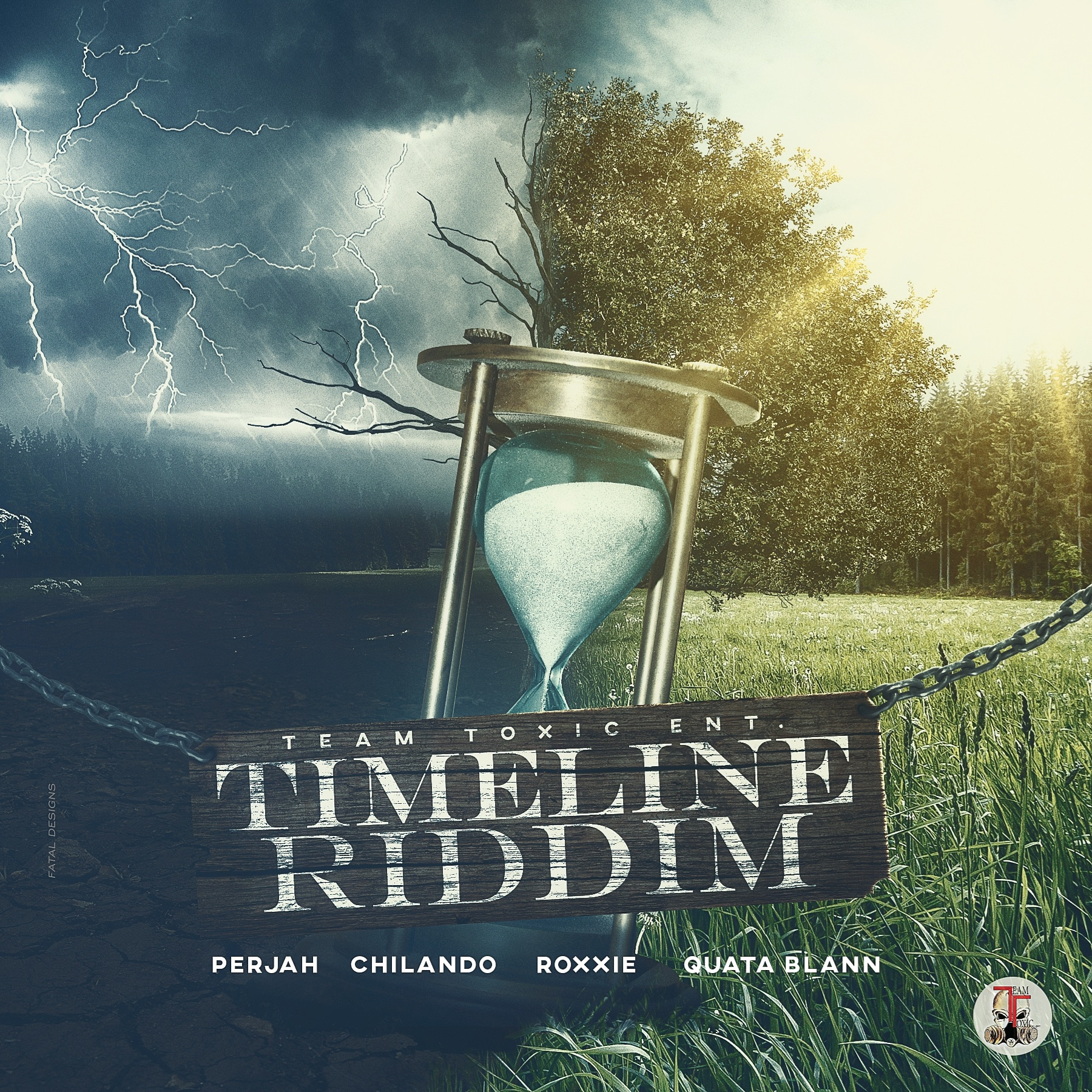Team Toxic aiming for the stars with Timeline Riddim