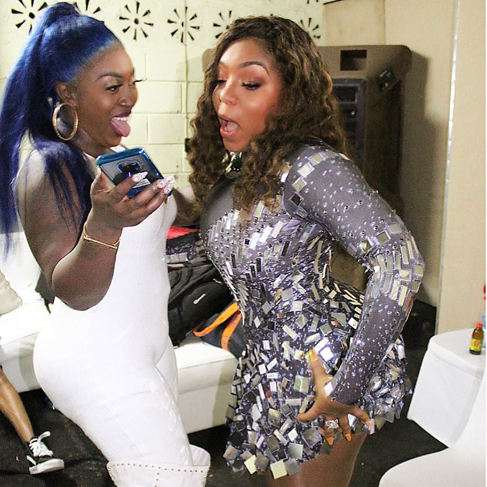 Culture Clash; Spice joins forces with Destra Garcia to create 'Trouble'