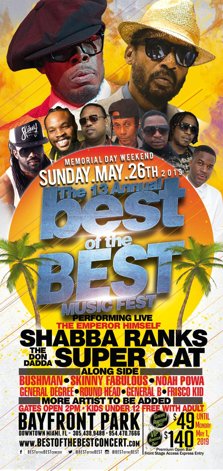 Best of the Best concert pays homage to 90's Dancehall Artist